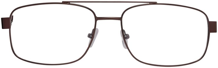 Prescription Glasses Model VP215-Brown-FRONT