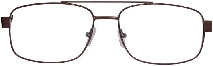 Prescription Glasses Model VP215-Brown-FRONT