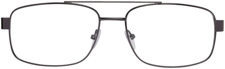 Prescription Glasses Model VP215-Gunmetal-FRONT