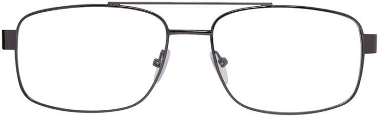 Prescription Glasses Model VP215-Gunmetal-FRONT