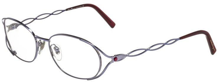 Salvatore Ferragmo Prescription Glasses Model 1644-B-611-45