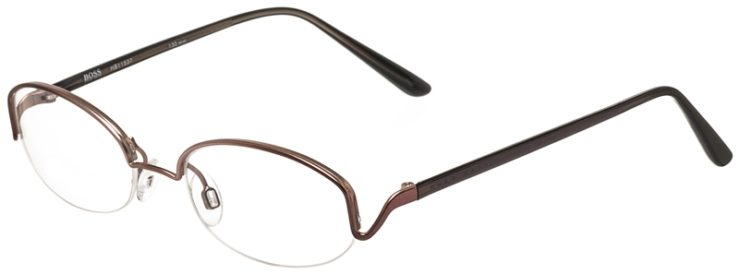 Hugo Boss Prescription Glasses Model HB11537-Brown-45