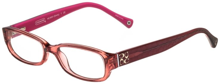 Coach Prescription Glasses Model HC6001-emily-5054-45