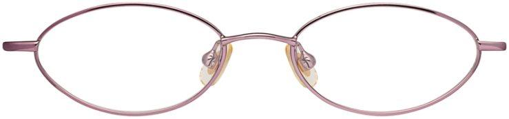 Disney Prescription Glasses Model Princess Jasmine-Purple Fantasy-FRONT