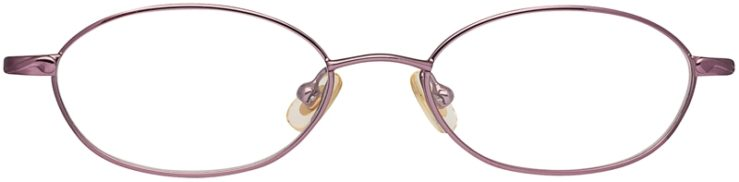 Disney Prescription Glasses Model Princess Magic Mirror-Purple Fantasy-FRONT