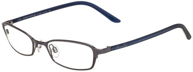 Kenneth Cole Prescription Glasses Model kc522-800-45