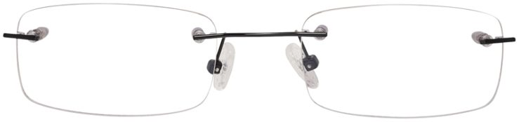 Prescription Glasses Model 3918-Black-FRONT