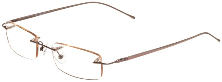 Prescription Glasses Model 3918-Brown-45