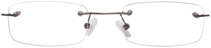 Prescription Glasses Model 3918-Gunmetal-FRONT