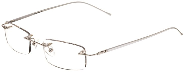 Prescription Glasses Model 3918-Silver-45