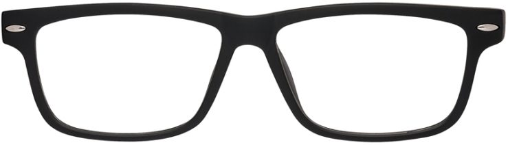 Prescription Glasses Model Blog-Black_Red-FRONT