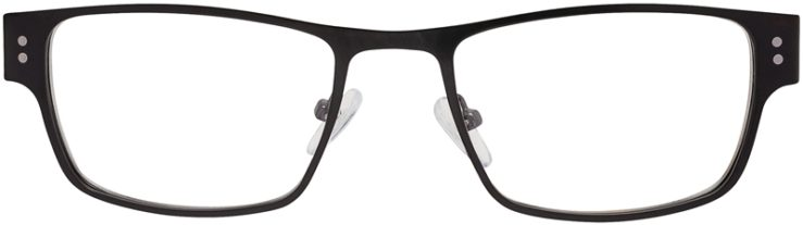 Prescription Glasses Model DC118-Black-FRONT
