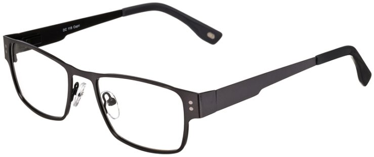 Prescription Glasses Model DC118-Gunmetal-45