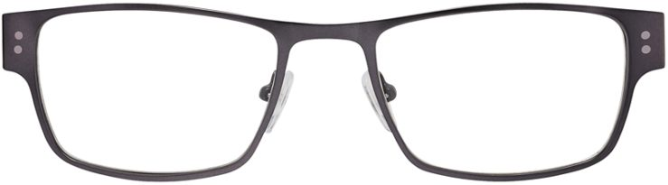 Prescription Glasses Model DC118-Gunmetal-FRONT