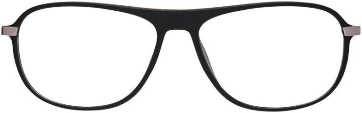 Prescription Glasses Model DC140-Black-FRONT