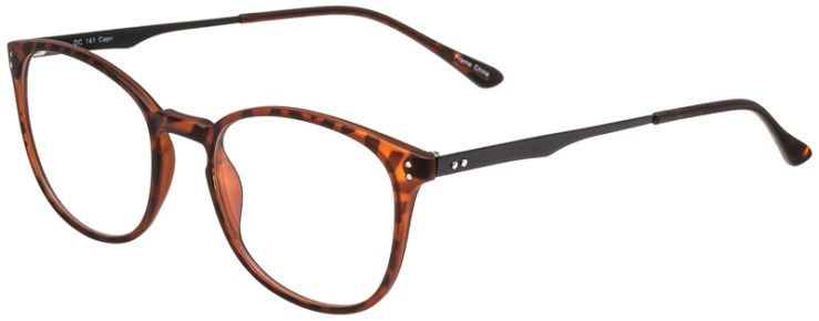 Prescription Glasses Model DC141-Tortoise-45