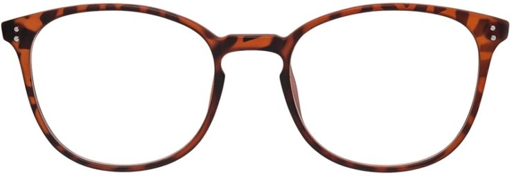 Prescription Glasses Model DC141-Tortoise-FRONT