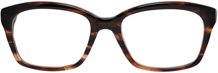 Prescription Glasses Model DC142-Brown-FRONT