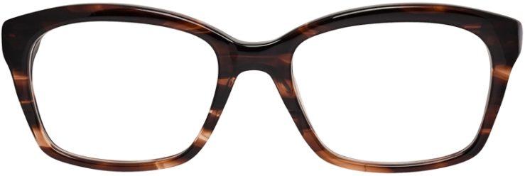 Prescription Glasses Model DC142-Brown-FRONT