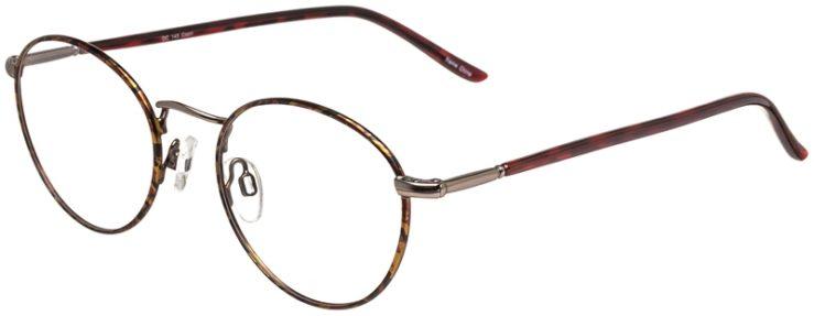 Prescription Glasses Model DC145-Tortoise_Gunmetal-45