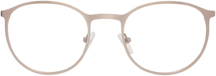 Prescription Glasses Model DC153-Gold-FRONT