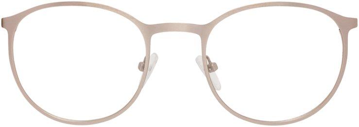 Prescription Glasses Model DC153-Gold-FRONT