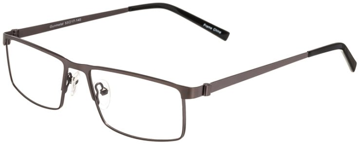 Prescription Glasses Model DC311-Gunmetal-45