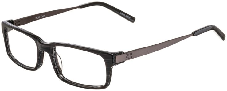 Prescription Glasses Model DC88-Grey-45