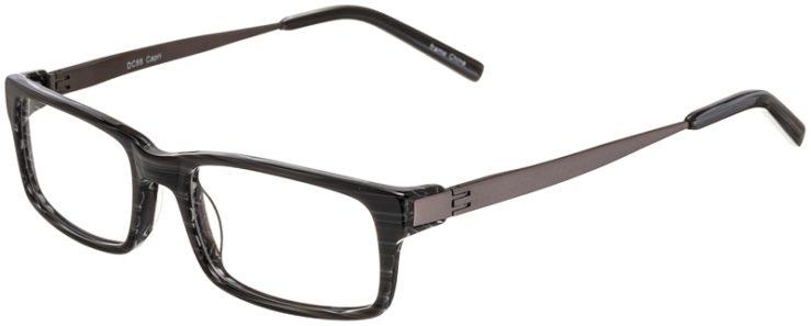 Prescription Glasses Model DC88-Grey-45