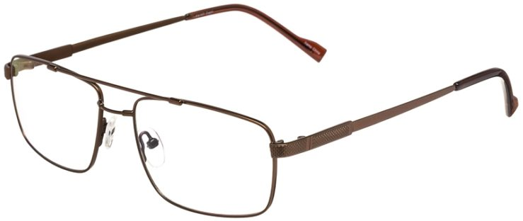 Prescription Glasses Model FX107-Brown-45