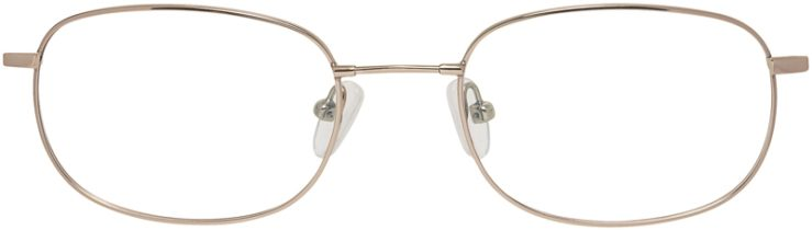 Prescription Glasses Model FX3-Gold-FRONT