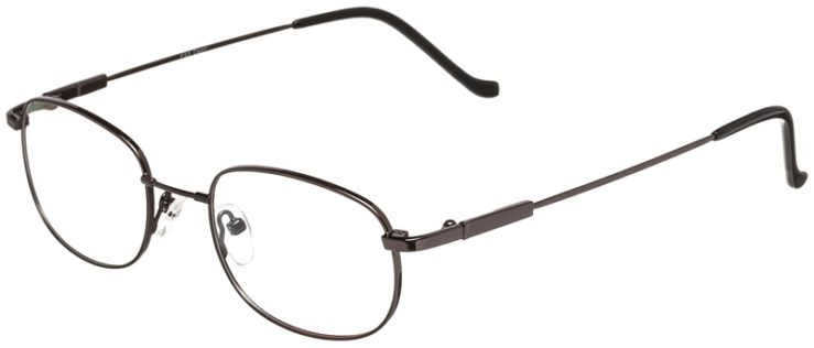 Prescription Glasses Model FX3-Gunmetal-45