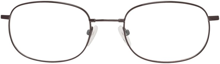 Prescription Glasses Model FX3-Gunmetal-FRONT