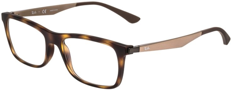 Ray-Ban Prescription Glasses Model RB7062F-5200-45