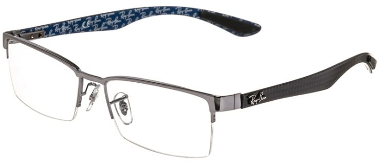 Ray-Ban Prescription Glasses Model RB8412-2502-45