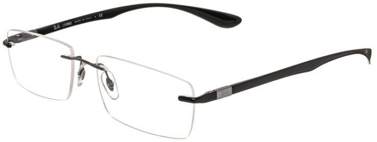 Ray-Ban Prescription Glasses Model RB8724-1000-45