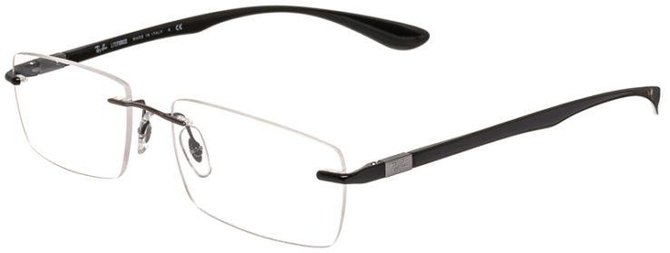 Ray-Ban Prescription Glasses Model RB8724-1000-45