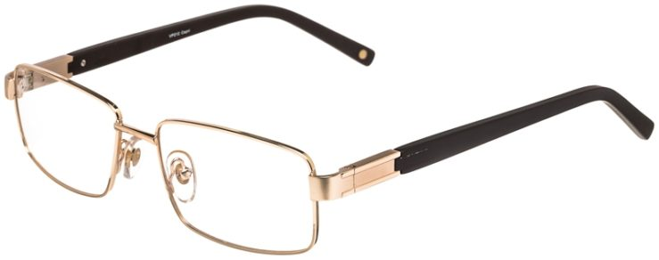 Prescription Glasses Model VP212-Gold-45