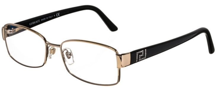 Versace Prescription Glasses Model 1177-B-M-1252-45