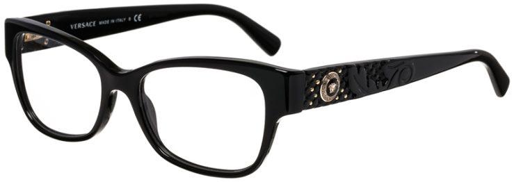 Versace Prescription Glasses Model 3196-GB1-45