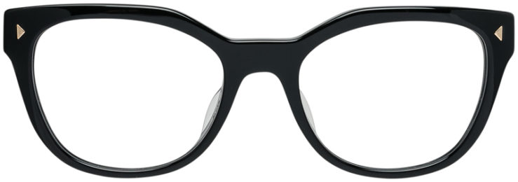 PRADA-PRESCRIPTION-GLASSES-MODEL-VPR 21S-F-1AB-101-FRONT