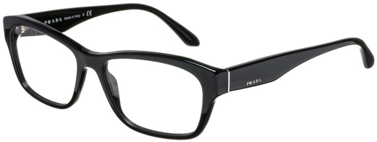 PRADA-PRESCRIPTION-GLASSES-MODEL-VPR 24R-1AB-101-45