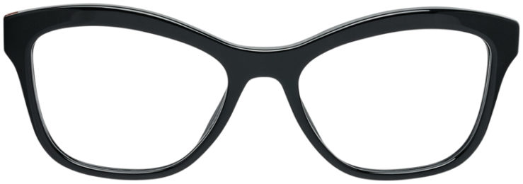 PRADA-PRESCRIPTION-GLASSES-MODEL-VPR 29R-1AB-101-FRONT