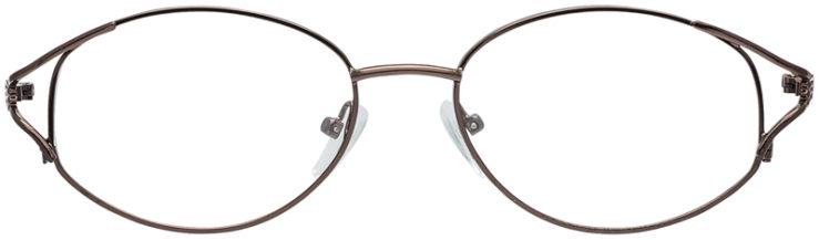 PRESCRIPTION-GLASSES-MODEL-7704-COFFEE-FRONT