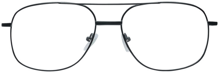 PRESCRIPTION-GLASSES-MODEL-7705-BLACK-FRONT