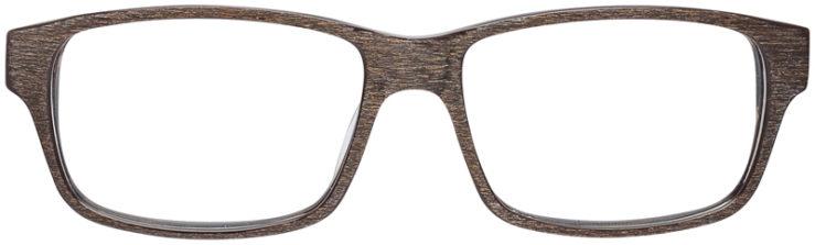 PRESCRIPTION-GLASSES-MODEL-ART-306-BROWN-WOOD-FRONT