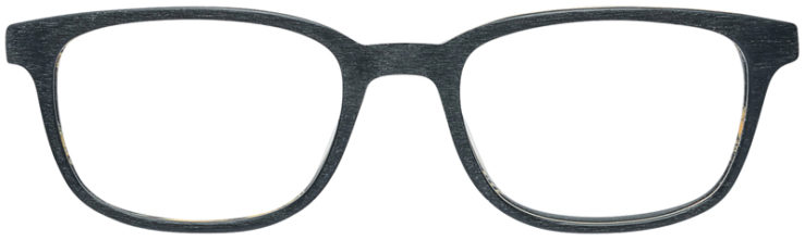 PRESCRIPTION-GLASSES-MODEL-ART-309-BLACK-WOOD-FRONT