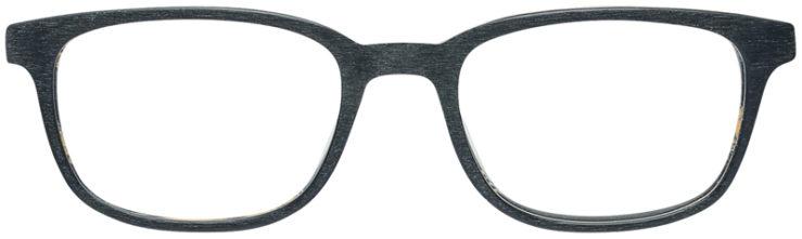 PRESCRIPTION-GLASSES-MODEL-ART-309-BLACK-WOOD-FRONT