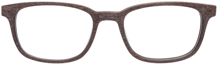 PRESCRIPTION-GLASSES-MODEL-ART-309-BROWN-WOOD-FRONT