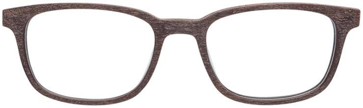 PRESCRIPTION-GLASSES-MODEL-ART-309-BROWN-WOOD-FRONT